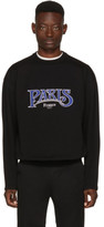 Balenciaga Black paris France Sweater