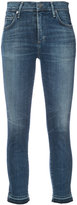 Citizens of Humanity faded cropped jeans