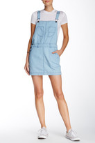 Love Stitch Chambray Overall Dress