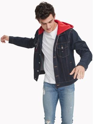 Tommy Hilfiger Essential Hooded Jean Jacket