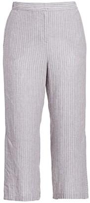 Nic+Zoe, Plus Size Central Park Pinstripe Pants