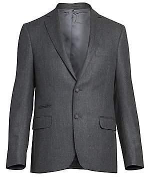 Officine Generale Men's Flannel Wool Jacket