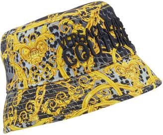 Versace Men's Baroque-Print Bucket Hat