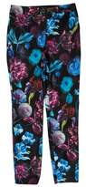 Ted Baker Floral Print Mid-Rise Pants w/ Tags
