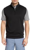 Peter Millar Men's Quarter Zip Vest