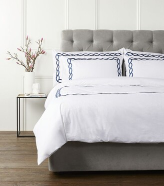 Peter Reed Cable Emperor Fitted Sheet (215Cm X 215Cm)