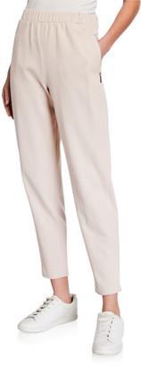MAX MARA LEISURE Tattico Cotton/Nylon Jersey Pants