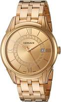 Versace Men's 'APOLLO' Swiss Quartz Stainless Steel Casual Watch (Model: V10090015)