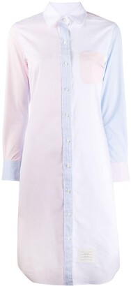 Thom Browne Classic Long Sleeve Dress