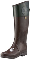 Hunter Two-Tone Riding Rain Boot