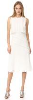 Jason Wu Pleated Sleeveless Dress