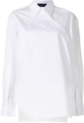 Eudon Choi Asymmetric Wraparound Shirt