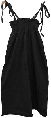 Douuod Anthracite Cotton Dresses