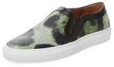 Givenchy Printed Leather Slip-On Sneaker