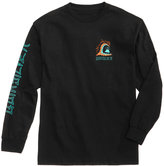 Quiksilver Men's Jagged Wave Long-Sleeve T-Shirt