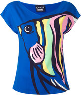 Moschino printed top - women - Polyester/other fibers - 42