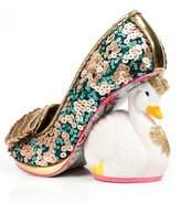 Irregular Choice Sequin Swan Heels