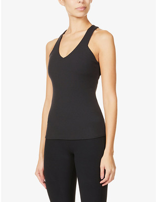 Alo Yoga Elevate stretch-knitted top