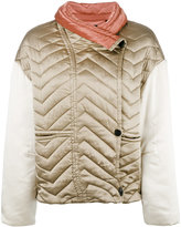 Isabel Marant Hector padded jacket - women - Silk/Cotton/Polyester - 34
