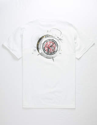 Independent Time To Grind Smashed Mens Tee