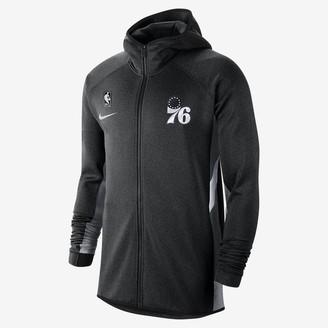 Nike Mens NBA Hoodie Philadelphia 76ers Therma Flex Showtime