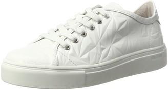 Blackstone Womens Nl34 Low-Top Sneakers white Size: 7.5 UK