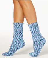 Charter Club Women's Supersoft Printed Butter Socks, Created for Macy's