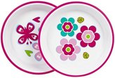 Playtex Baby Girl Butterfly Plates 2 Pack 6 Months & Up