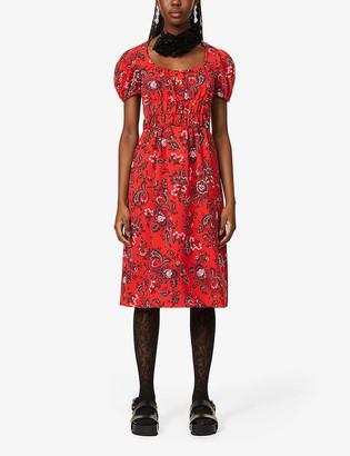 Erdem Tristan floral-print woven midi dress