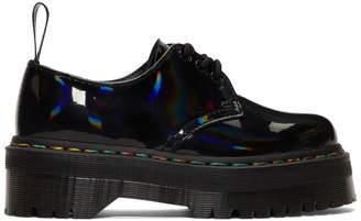 Dr. Martens Black Rainbow 1461 Quad Lace-Up Derbys