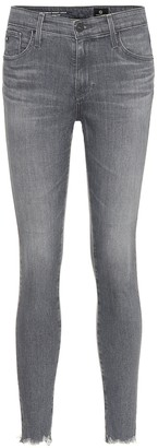 AG Jeans The Farrah high-rise skinny jeans
