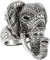Thomas Sabo Elephant head sterling silver ring