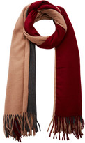 DONNI. Trio Multi-Colored Cashmere-Blend Scarf