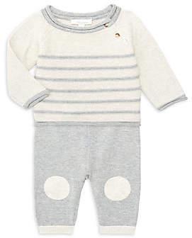 Miniclasix Baby Boy's Two-Piece Knit Sweater & Pants Set