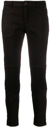 No.21 Ribbed Cropped Jeans