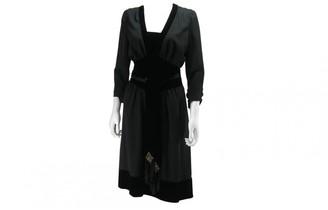 Azzaro Black Wool Dress for Women