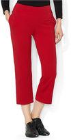 Lauren Ralph Lauren Cropped Straight-Leg Pull-On Pants