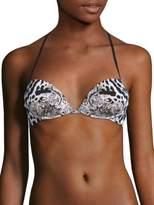 Roberto Cavalli Triangolo Pushup Bikini Top