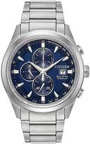 Citizen Men's Eco Drive Black Titanium Bracelet Watch