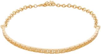 Versace Greca Gold-Tone Choker