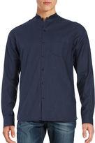 Selected Crewneck Button-Down Shirt
