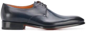 Santoni Lace-Up Leather Shoes