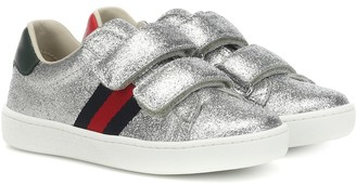 Gucci Kids Ace glitter sneakers