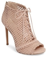 Jessica Simpson Women's Rendy Latticework Peep Toe Bootie
