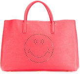 Anya Hindmarch smiley 'Ebury' tote - women - Calf Leather - One Size