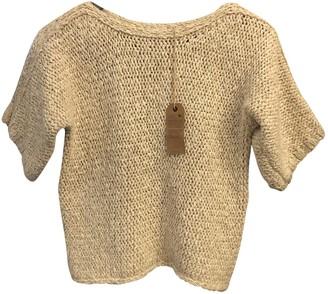 soeur Ecru Cotton Knitwear for Women