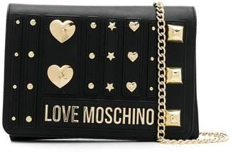 Love Moschino studded cross body bag