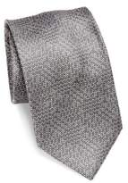 Brioni Dual-Tone Textured Silk Tie