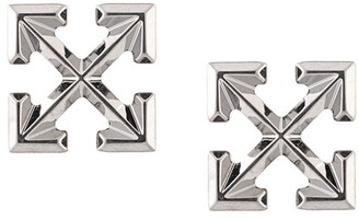 Off-White Arrow Logo Studs