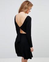 Asos Tie Back Mini Dress